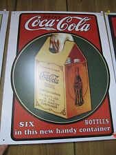 Coca-Cola Handy 6 Pack Sign -NEW