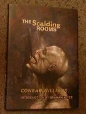 Conrad Williams SIGNED The Scalding Rooms UKHC 1st Edn (Graham Joyce)