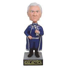 Battlestar Galactica 35th Ann Bobble Commander Adama Biff Bang Pow 013256