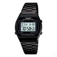 CASIO Vintage Retro Series Black Stopwatch Classic Digital Watch B640WB-1A