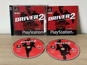 RARE Black Label - PlayStation 1 PS1 Game  Driver 2 Back On The Streets Complete