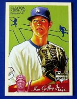 2008 UPPER DECK GOUDEY CLAYTON KERSHAW BASEBALL CARD #75 ROOKIE ~ BEAUTY ~ MINT