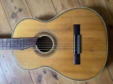 Alte Gitarre Parlor, vollmassiv