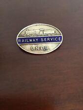 LNER Railway Service Badge No 89714