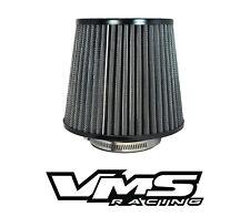 "VMS RACING BLACK 3"" AIR INTAKE HIGH FLOW AIR FILTER FOR SUBARU IMPREZA WRX STI"