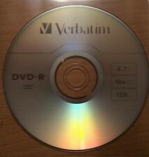 6 Verbatim dvd-r  in pvc sleeves FREEPOST