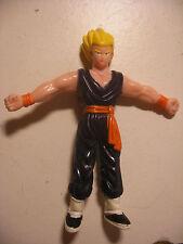 Vintage AB 1989 BANDAI DBZ Dragon Ball Z Figurine B.S/S.T.A BENDABLE 9cm Figure