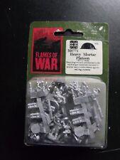 (BR771) FLAMES OF WAR BRITISH  HEAVY MORTAR PLATOON (-M-L)