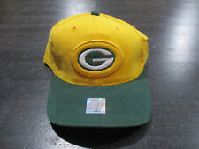 NEW VINTAGE Starter Green Bay Packers Hat Cap Green Yellow Strap Back Football