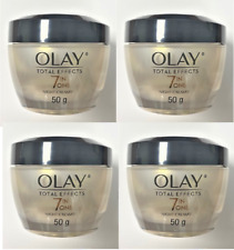 Olay Total Effects 7-in-1 Anti-Aging Night Firming Cream, 1.7 oz (Pack of 4)