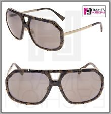 55e165be49ee Dolce   Gabbana Griffe Camo Green Olive Frost Mirror Dg2167 Sunglasses 2167