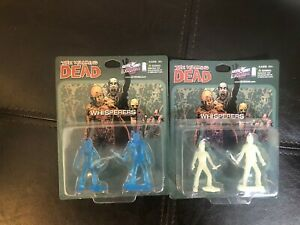Walking Dead Megabox Exclusive The Whisperers Figures - 2 Sealed Sets Blue White