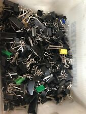 300 USED BINDER CLIPS 3 SIZES
