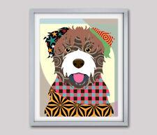 Bouvier des Flandres Dog Pop Art Pet Animal Print Puppy Portrait Painting New