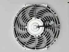 High Performance Chrome 12inch Thermo Fan Electric Fan 120watt DSM
