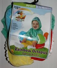 *New* Noah's Ark Collection Rainbow Octopus Rubie's costume 6-12 months