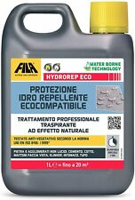 FILA HYDROREP ECO External Stone Sealer Unpolished Natural Stone Concrete 1 Ltr