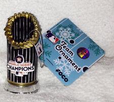 MLB Houston Astros 2017 World Series CHAMPS Champions Trophy Christmas Ornament