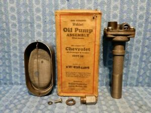 1937 1938 1939 Chevrolet NORS Oil Pump Assembly with Screen #838440