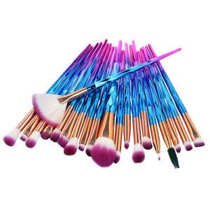 20pcs Kabuki Makeup Brushes Set Powder Foundation Eyeshadow Eyeliner Lip Brush