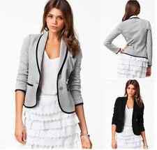 Women OL Work Office Lady Long Sleeve Blazer Suit Jacket Coat Outerwear Clothing