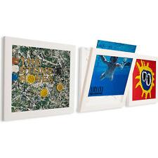 """ART VINYL """"3 PACK"""" Display Vinyl Album Frames in """"White"""""""