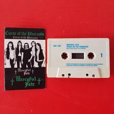MERCYFUL FATE on SNC  —CURSE OF THE PHAROAHS— heavy metal cassette tape