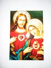 Sacred Heart of Jesus and Immaculate Heart of Mary 4x6 Photo Print - Catholic