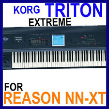 KORG TRITON EXTREME For REASON SXT Patches/Presets/Sounds 12 DVD'S 45GB