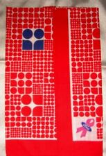 """KATE SPADE Red White Ford Scarf Breast Cancer Awareness Pink Ri bbon 20"""" NWOT"""