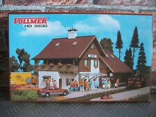 Vollmer 3530 H0 BAHNHOF REITH MIT GÜTERSCHUPPEN gebaut Rarität