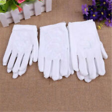 Kids Express Etiquette Polyester Performance Child Costume Gloves White