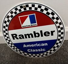 American Motors Corporation sign .. AMC Rambler
