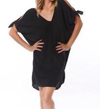 Draped Knee Length Viscose Dresses for Women