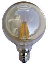 CLA Lighting 6W 2700K LED E27 G95 Decorative Sphere Filament Lamp Bulb Globe CF2