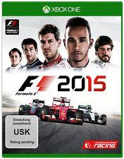 Microsoft XBOX - One XBOne Spiel * F1 2015 * Formel 1 15 Formula ONE ****NEU*NEW