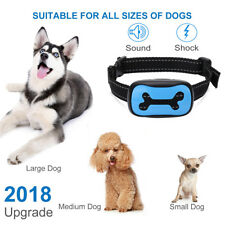 Pet Dog Anti Bark No Barking Shock Control Training Collar Vibration Waterproof