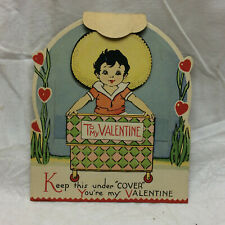 Vintage Valentine's Day Card Moving Lid