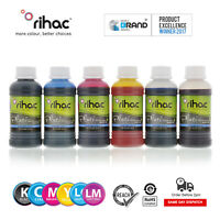 RIHAC Refill ink for CISS alternative for Epson 277 277XL cartridge XP950 XP-970
