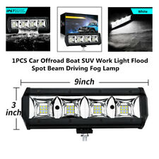 12-24V Work Light Flood Spot Beam Offroad Boat Car SUV Driving LED Fog Lamp Part