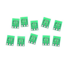 10pcs Double-Side SMD SOT23-3 to DIP SIP3 Adapter PCB Board DIY Converter P xzRC