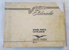 1972 MOTO GUZZI  V 850 ELDORADO MOTORCYCLE PARTS MANUAL ORIGINAL FACTORY MANUAL