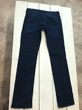 New Womens 7 For All Mankind Womens Jeans 29 X 33 Straight Leg Slim Dark Denim