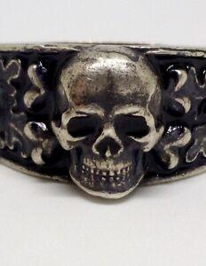 Authentic WW german ring WK Totenkopf Ring