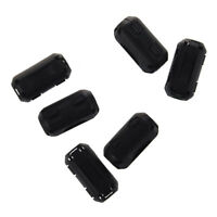 5x Clip On EMI RFI Noise Ferrite Core Filter for 7mm Cable/&s