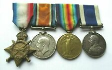 WW1, LSGC NAVAL MEDAL GROUP / W C BARROW / SERVICE PAPERS / From SOUTHAMPTON