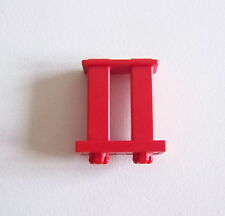 PLAYMOBIL (4606) SYSTEMx - Petite Balustrade Rouge Plate Forme Hélicoptère 3988