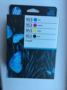 6ZC69AE - HP 953 Multipack Original Ink Cartridges for Pro 7700/8700 4 Pack NEW