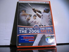New sealed The Team, The Time, The 2006 Mets DVD, 2007 baseball MLB
