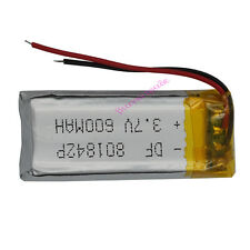3.7V 600 mAh Polymer Li battery Li-po For Mp3 Mp4 bluetooth headset pen  801842